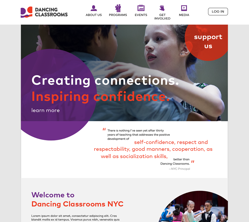 Dancing Classrooms NY -- Ballroom Dancing for Youth